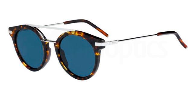9G0  (KU) FF 0225/S Sunglasses, Fendi