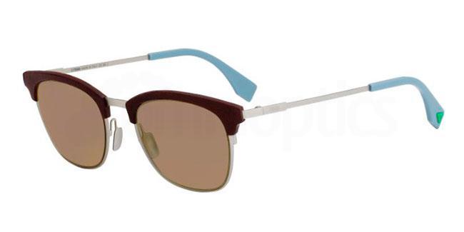 4ES  (70) FF 0228/S Sunglasses, Fendi