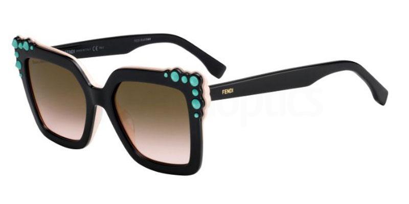 3H2 (53) FF 0260/S Sunglasses, Fendi