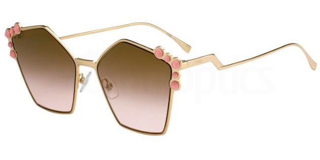 000  (53) FF 0261/S Sunglasses, Fendi
