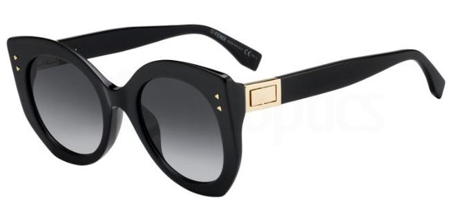 807  (9O) FF 0265/S Sunglasses, Fendi