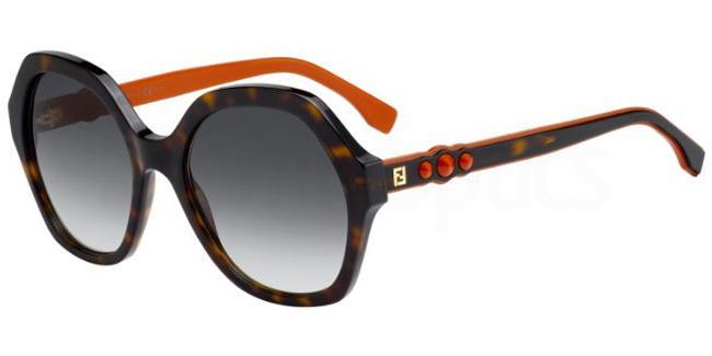 086  (9O) FF 0270/S Sunglasses, Fendi