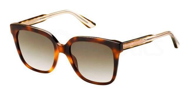 QQD  (CC) TH 1386/S Sunglasses, Tommy Hilfiger