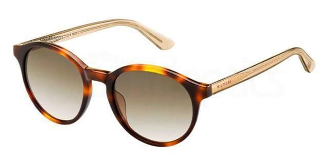 QTF  (CC) TH 1389/S Sunglasses, Tommy Hilfiger