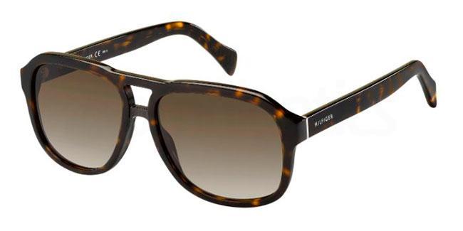 086  (HA) TH 1468/S Sunglasses, Tommy Hilfiger