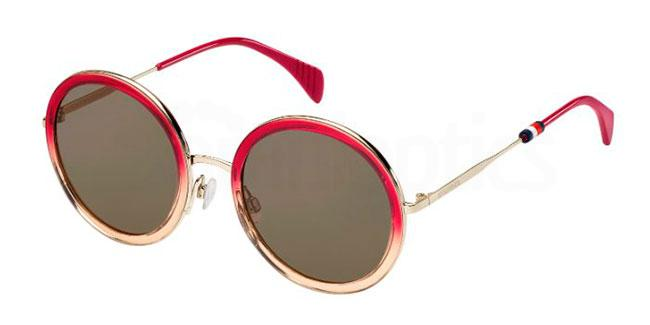 4TL  (70) TH 1474/S Sunglasses, Tommy Hilfiger