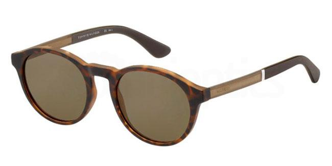 N9P  (70) TH 1476/S Sunglasses, Tommy Hilfiger