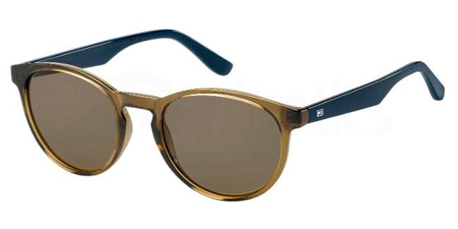 4C3  (70) TH 1485/S Sunglasses, Tommy Hilfiger