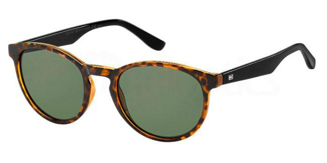 9N4  (QT) TH 1485/S Sunglasses, Tommy Hilfiger