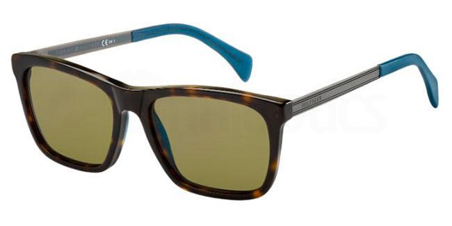 0EX  (A6) TH 1435/S Sunglasses, Tommy Hilfiger