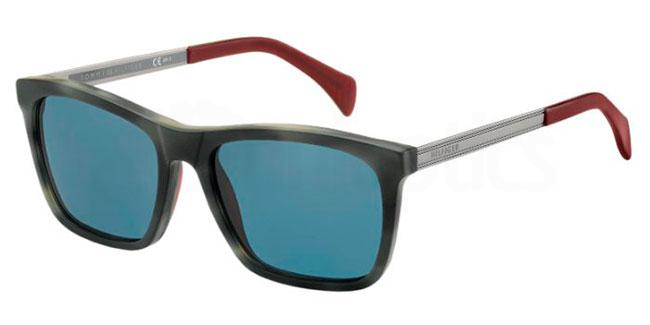 H7Y  (8F) TH 1435/S Sunglasses, Tommy Hilfiger