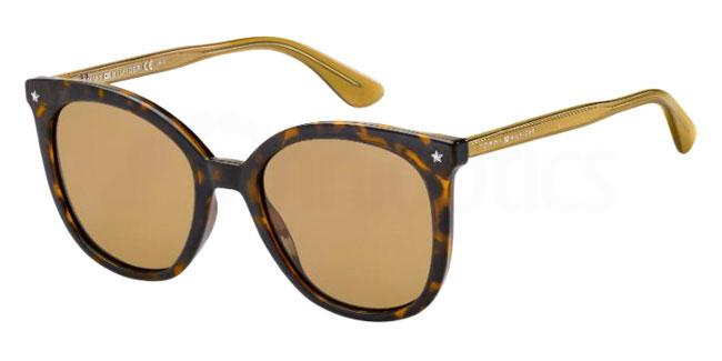 086 (70) TH 1550/S Sunglasses, Tommy Hilfiger