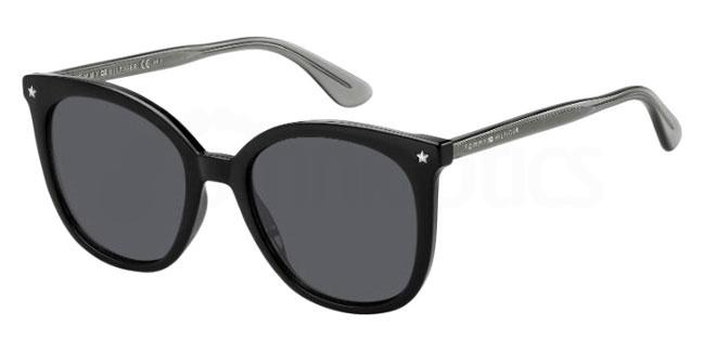 807 (IR) TH 1550/S Sunglasses, Tommy Hilfiger