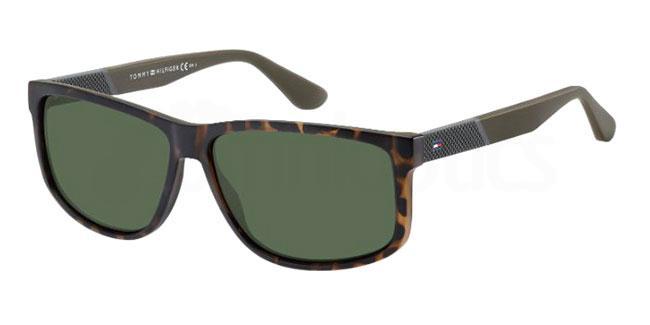 086 (QT) TH 1560/S Sunglasses, Tommy Hilfiger