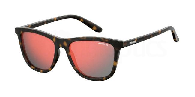 086 (OZ) PLD 8027/S Sunglasses, Polaroid Kids