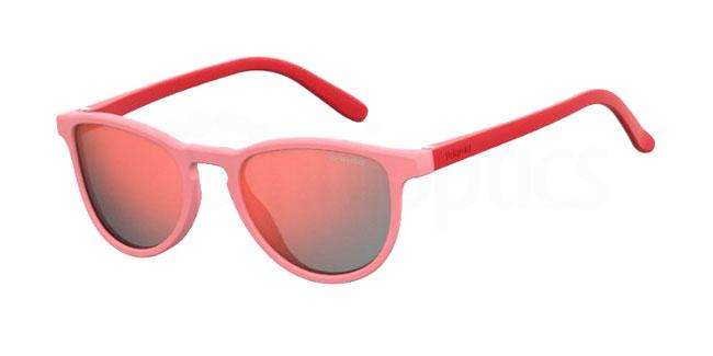C48 (OZ) PLD 8029/S Sunglasses, Polaroid Kids