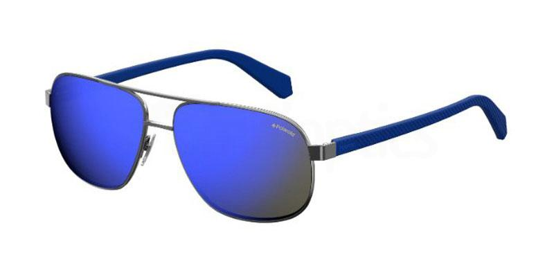 KJ1 (5X) PLD 2059/S Sunglasses, Polaroid