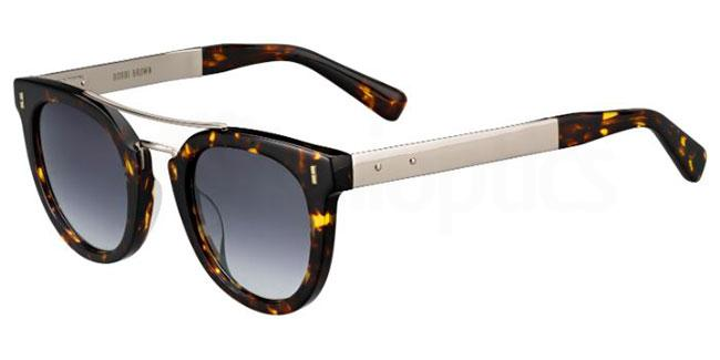 086  (9O) THE WOODSON/S Sunglasses, Bobbi Brown