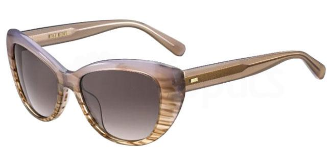 2W8 (3X) THE SUSANA/S Sunglasses, Bobbi Brown
