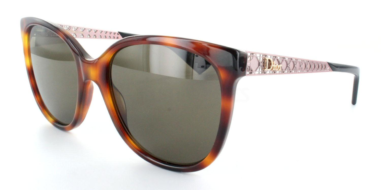0T4  (70) DIORAMA3N Sunglasses, Dior