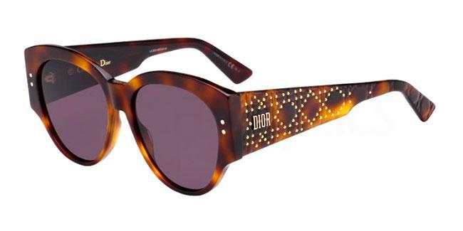 086 (0D) LADYDIORSTUDS2 Sunglasses, Dior