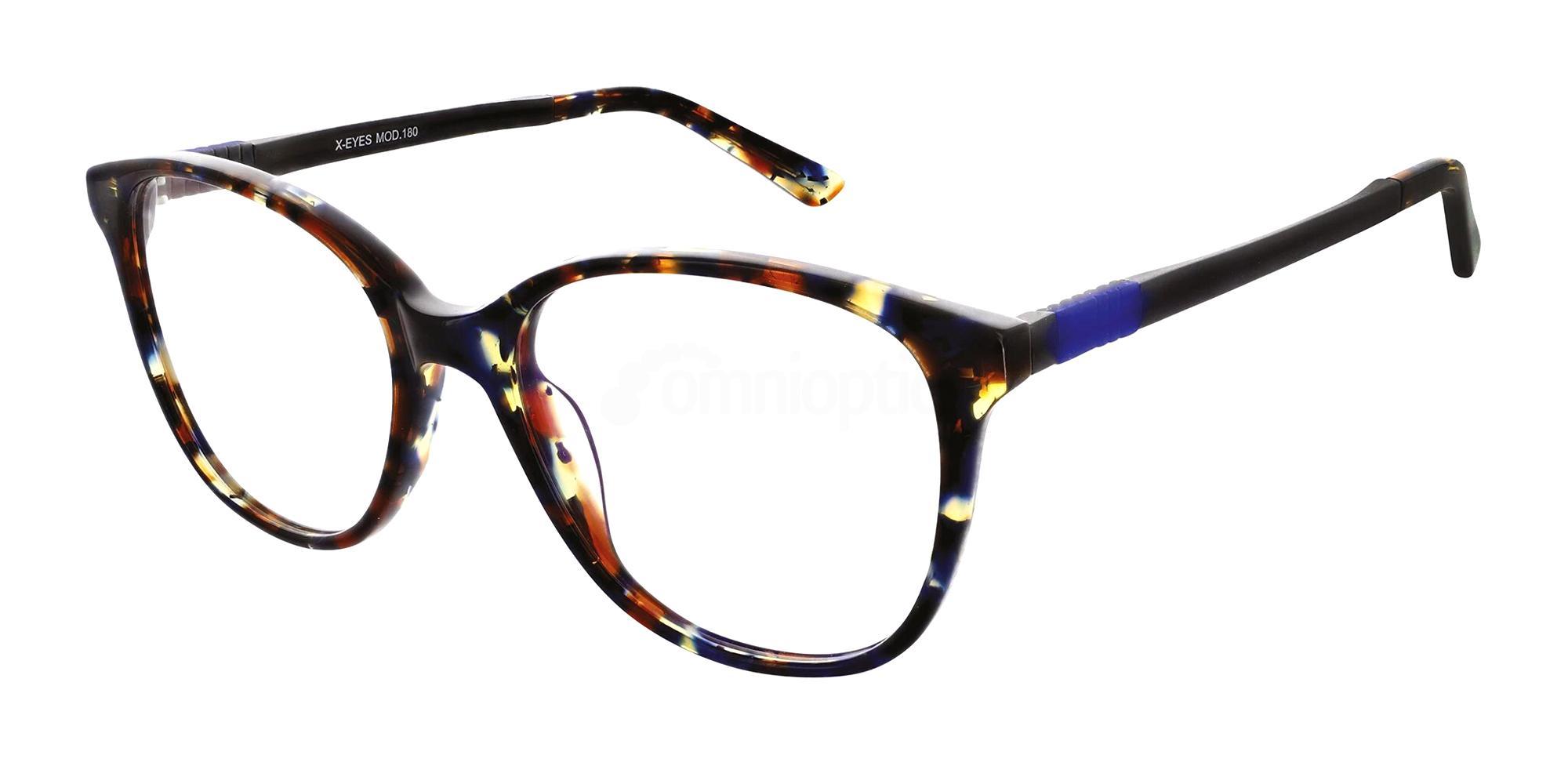 Blue Multi 180 Glasses, X-Eyes