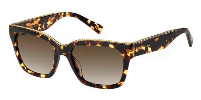 086  (HA) MARC 163/S Sunglasses, Marc Jacobs
