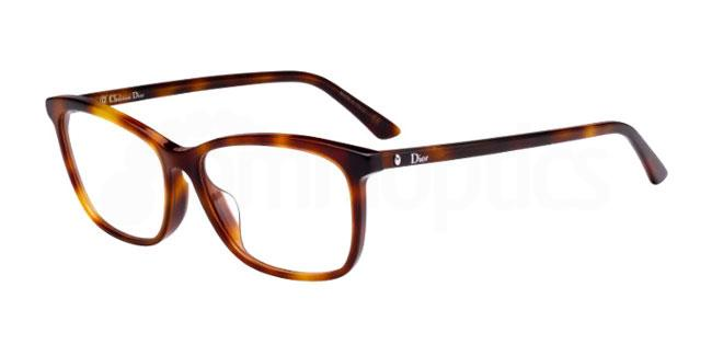 086 MONTAIGNE55F Glasses, Dior