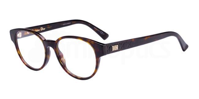 086 LADYDIORO1 Glasses, Dior