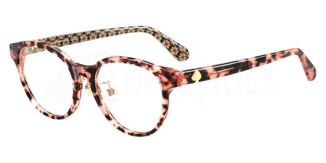 0T4 CAELEY/F Glasses, Kate Spade