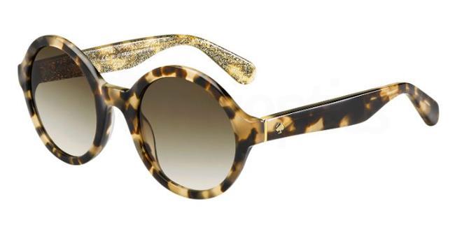 S28  (CC) KHRISTA/S Sunglasses, Kate Spade