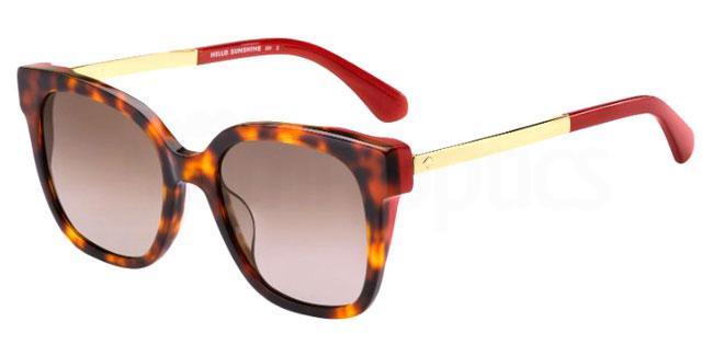 65T (HA) CAELYN/S Sunglasses, Kate Spade