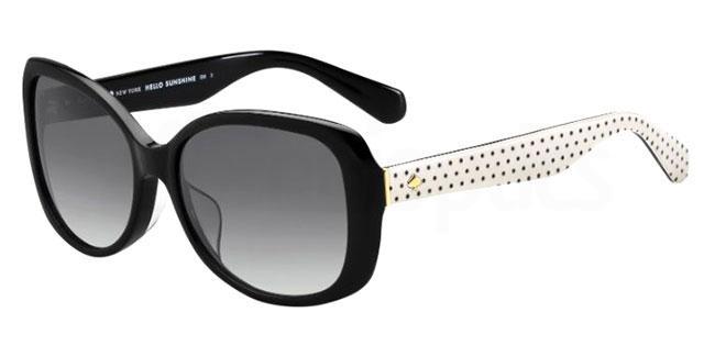 807 (9O) AMBERLYN/F/S Sunglasses, Kate Spade