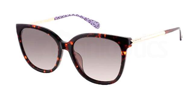 086 (HA) BRITTON/G/S Sunglasses, Kate Spade