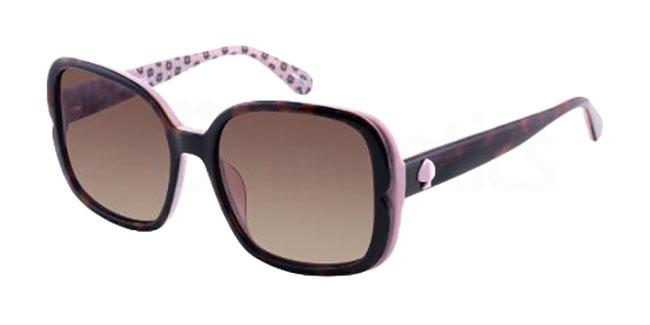 0T4 (LA) ELIANNA/G/S Sunglasses, Kate Spade