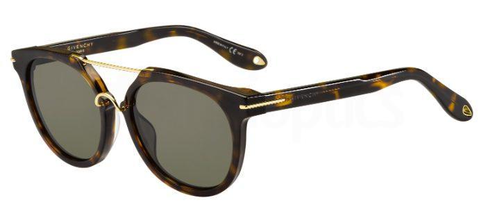 086  (70) GV 7034/S Sunglasses, Givenchy