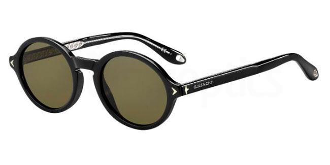 GIVENCHY Givenchy Herren Sonnenbrille » GV 7059/S«, braun, 9N4/QT - braun/grün
