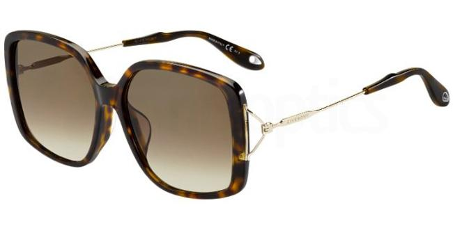 AQT  (J6) GV 7019/F/S Sunglasses, Givenchy