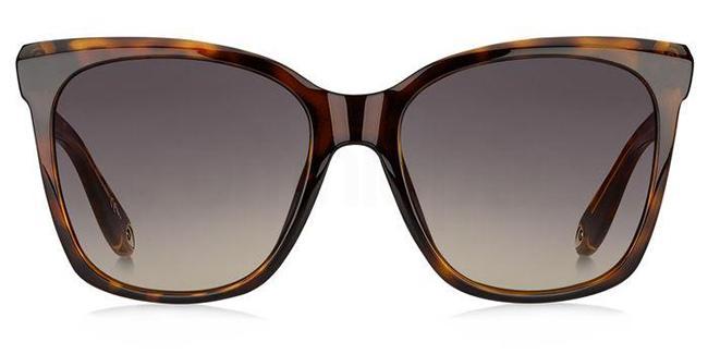 086  (3X) GV 7069/S Sunglasses, Givenchy