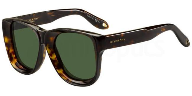 086  (QT) GV 7074/S Sunglasses, Givenchy