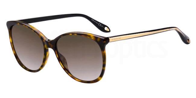 GIVENCHY Givenchy Damen Sonnenbrille » GV 7095/S«, rosa, 35J/IR - rosa/grau