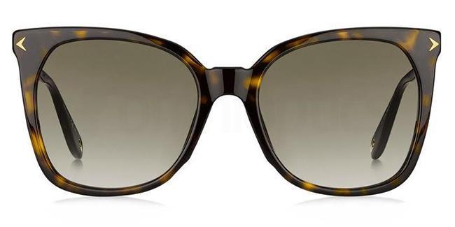 086 (HA) GV 7097/S Sunglasses, Givenchy