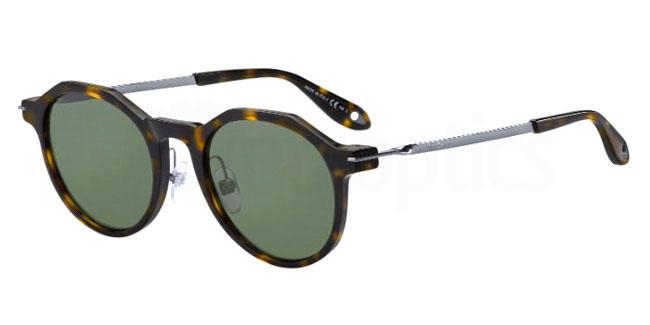 086 (QT) GV 7100/F/S Sunglasses, Givenchy