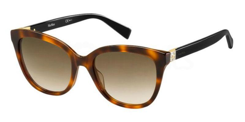 581 (HA) MM TILE Sunglasses, MaxMara Occhiali