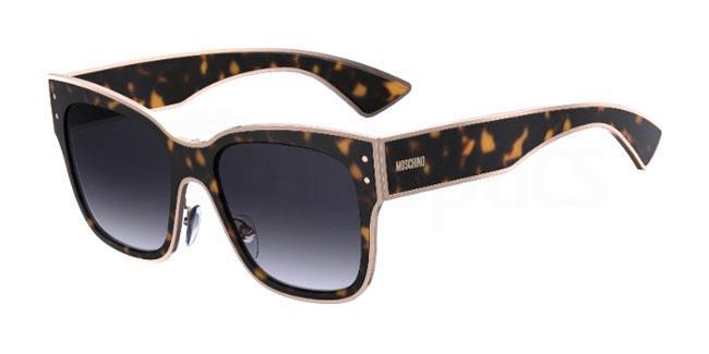086 (9O) MOS000/S Sunglasses, Moschino