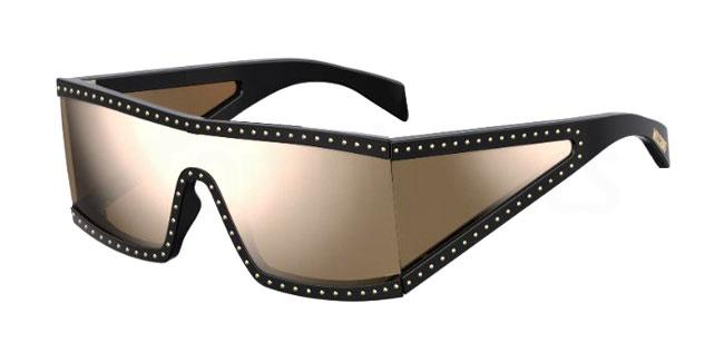 2M2 (SQ) MOS004/S Sunglasses, Moschino