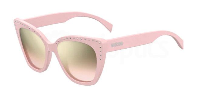 35J (53) MOS005/S Sunglasses, Moschino