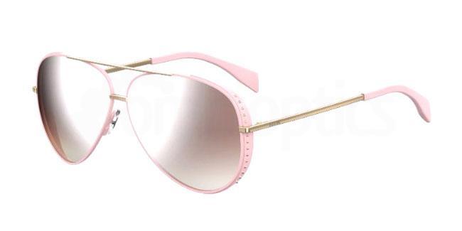 35J (53) MOS007/S Sunglasses, Moschino