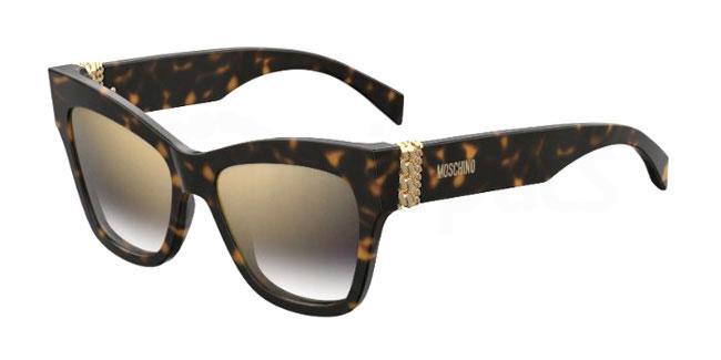 086 (FQ) MOS011/S Sunglasses, Moschino