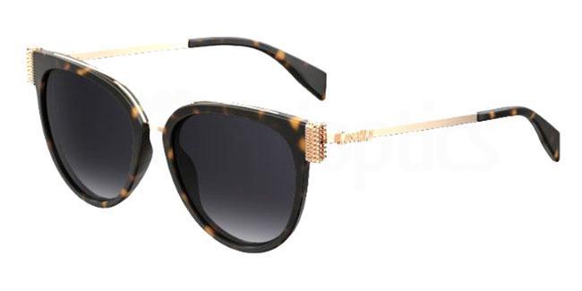 086 (9O) MOS023/S Sunglasses, Moschino